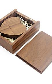Ants 16GB USB 플래시 드라이브 USB 디스크 USB 2.1 나무 / 대나무 love wooden gift box