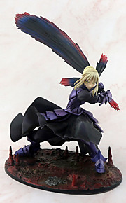 애니메이션 액션 피규어 에서 영감을 받다 페이트 / 스테이 나이트 Saber PVC 18 cm CM 모델 완구 인형 장난감