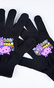 Unisex Para dedos Guantes - Básico Estampado