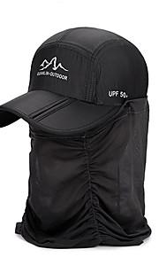 Unisex Základní Sluneční klobouk-Jednobarevné Polyester Léto Podzim Fuchsiová Světle šedá Námořnická modř