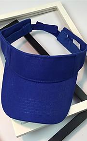 Unisex Základní Sluneční klobouk-Jednobarevné Bavlna Jaro Léto Světle modrá Khaki Námořnická modř