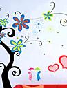 elegant autocolant de perete flori (0732-XM-JJ-014)