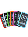 caisse de silicium pour iPod touch2 / 3 7 couleurs 7 pièces par paquet (kly126)