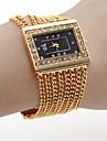 Γυναικεία Πολυτελή Ρολόγια Ρολόι Καρπού χρυσό ρολόι Χαλαζίας Χρυσό Hot Πώληση Αναλογικό κυρίες Φυλαχτό Μοντέρνα Ενας χρόνος Διάρκεια Ζωής Μπαταρίας / SSUO SR626SW