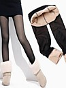 Women's Double Layered Sheer Effect Leggings