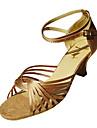 personaliza spectacol de dans pantofi de satin pantofi superioare latin pentru femei