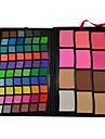72 färger professionell ögonskugga och puder smink set