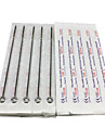50st sterila rostfria tattoo nålar 25 6f 25 7RS