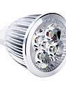5W 400-500lm GU5.3(MR16) LED-spotlights MR16 5 LED-pärlor Högeffekts-LED Varmvit 12V