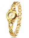 pentru Doamne Ceas La Modă Ceas Brățară Quartz Aliaj Bandă Elegant Auriu
