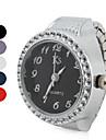 Pentru femei Ceas La Modă Ceas inel Japoneză Quartz Bandă Sclipici Argint