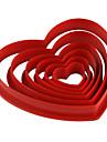 bakformen Hjärta Paj Kaka Tårta Plast Miljövänlig GDS (Gör det själv) alla hjärtans dag