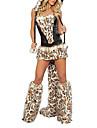 Déguisements de lapin de Pâques Cheshire Cat Femme sexy Corset Costumes d'Halloween