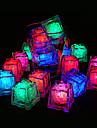 20 - LED cuburi de gheata lumini de schimbare a culorilor de lumină