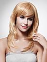 Parrucche sintetiche Riccio Taglio scalato Capelli sintetici Design Marrone Parrucca Per donna Lungo / Lunghezza media Lungo / parrucca
