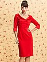 ts vintage Doppel Brust Kleid