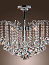 MAISHANG® Chandelier Ambient Light - Crystal, Modern / Contemporary, 110-120V 220-240V Bulb Not Included