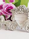 elegant transportul fotografie carte de loc titular / rama foto nunta