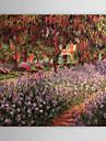 Hang målad oljemålning HANDMÅLAD - Känd Klassisk Traditionell Duk