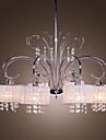 QINGMING® Modern Ljuskronor Fluorescerande - Kristall, 110-120V / 220-240V Glödlampa inte inkluderad