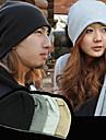 trendy flocking pălărie de tricotat pentru femei