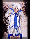 Inspirat de Vocaloid Snow Miku Video Joc Costume Cosplay Costume Cosplay Fără manșon Vestă Fustă Accesoriu de Păr Mâneci Centură Cravată