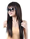Парики из искусственных волос Прямой Искусственные волосы 9 дюймовый Жен. Парик Без шапочки-основы