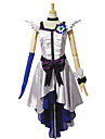 Inspirerad av PrettyCure Cure Moonlight Animé Cosplay-kostymer cosplay Suits Klänningar Lappverk Ärmlös Klänning Huvudbonad Handske