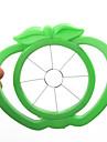 instrument de mere de plastic în formă de fructe ușor de tăiere slicers (culori aleatorii)