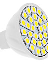 4W GU5.3(MR16) Spoturi LED MR16 30 led-uri SMD 5050 Alb Natural 420lm 6000K DC 12V