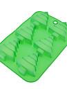 Instrumente de coacere Silicon Ecologic / Crăciun Tort / Biscuiți / Plăcintă coacere Mold 1 buc