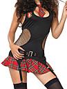 Student / Skoluniform Karriär Dräkter Cosplay Kostymer/Dräkter Festklädsel Kvinna Halloween Karnival Festival / högtid Halloweenkostymer