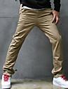Slim pantaloni casual lungi pentru bărbați