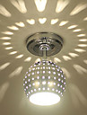 Takmonterad Glödande - Ministil LED, Modern, 110-120V 220-240V, Varmt vit Blå, Glödlampa inkluderad