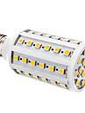 YWXLIGHT® 800lm E26 / E27 LED-lampa T 60 LED-pärlor SMD 5050 Varmvit Vit 12V