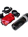 Baklykta till cykel Framlykta till cykel LED Cykelsport Vattentät bakgrundsbelysning AAA Lumen Batteri Cykling
