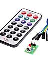 ir modul receptor kit de control de la distanță fără fir pentru (pentru Arduino) (1 x CR2025)