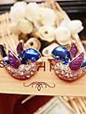 Bijuterii drăguț cercei complete europene și americane de păsări diamant de epocă E615