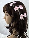 Bijoux Doux Coiffure Femme Accessoires Lolita  Couleur Pleine / Noeud papillon Casque Satin