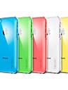 Solid de culoare Carcasă transparentă Înapoi pentru iPhone 5C (Color asortate)