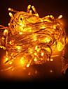 10m 100 condus de lumină galbenă condus lumina de decorare șir (220V)