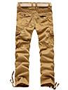 bumbac buzunare multiple pantaloni pentru bărbați