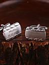 aliaj de zinc Butoni & Ace de Cravată Mire Naș de Căsătorie Nuntă Aniversare Felicitări Afaceri