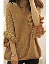 Femei Lovely Adauga Size Pearl șirag de mărgele pulover