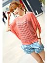Femei de cauzalitate Candy Culoare de tricotat Pulover