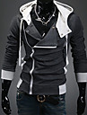 Purtați DD Trendy Slăbire Hooded Cardigan (Dark Gray)