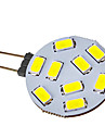 G4 Spot LED 9 diodes electroluminescentes SMD 5730 120-150lm Blanc Froid 6000-6500