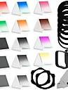 slutföra kvadratkamerafilter kit kompatibel w / Cokin P-serien