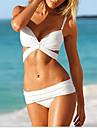 IKINI femei Pachet Sculpting Bikini (alb)