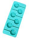 Silicon Lollipop Mold decorare tort de coacere instrument, culoare aleatorii